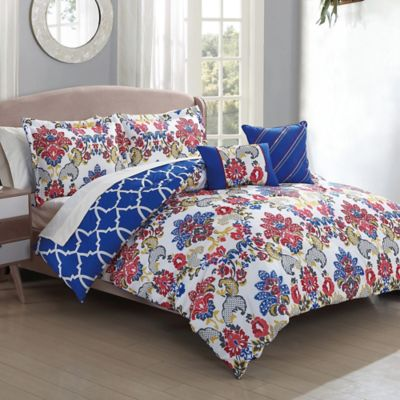 Kareena 5-Piece Full/Queen Comforter Set