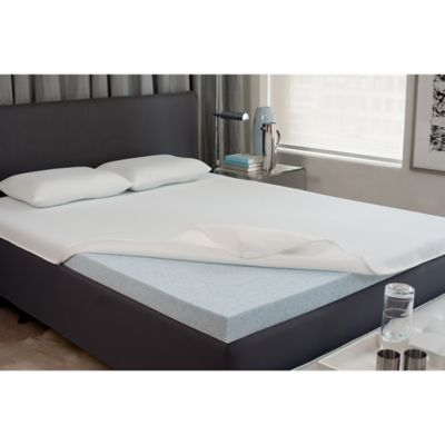 King 2-Inch Gel Memory Foam Mattress Topper