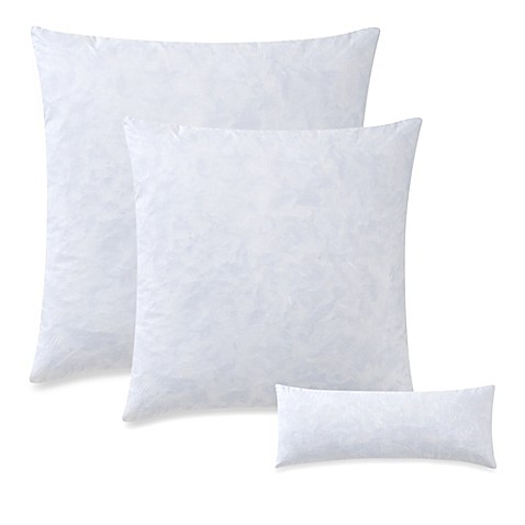 Feather Throw Pillow Insert in White - Bed Bath & Beyond