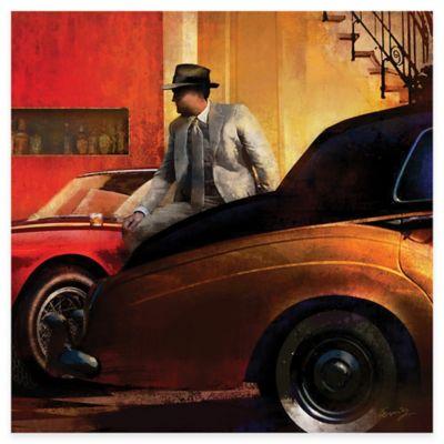 Car Collector II Canvas Wall Art
