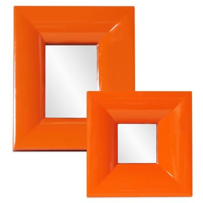 Howard Elliott® 9-Inch x 9-Inch Candy Mirror in Orange
