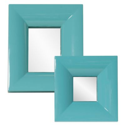 Howard Elliott® 10-Inch x 12-Inch Candy Mirror in Teal