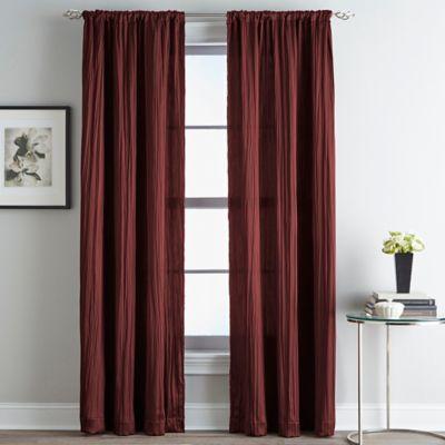 Fortuna Room Darkening Rod Pocket Window Curtain Panel
