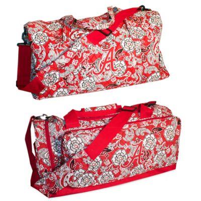 University of Alabama Extra Large Duffle Bag