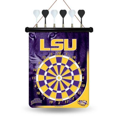 LSU Magnetic Dart Board