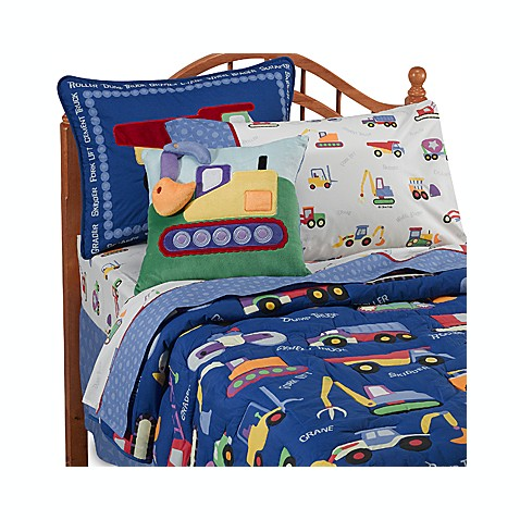 Olive Kids™ Under Construction Comforter Set, 100% Cotton
