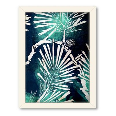 "Urban Road Collection ""Untitled 1"" Framed Floral Art Print"