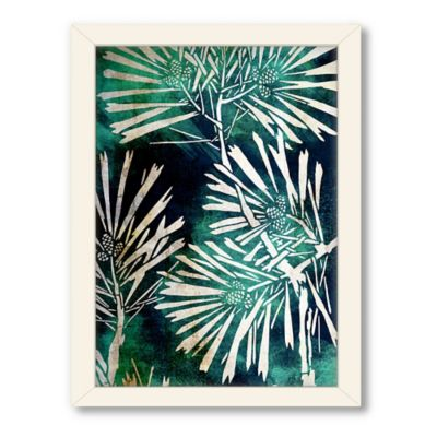 "Urban Road Collection ""Untitled 2"" Framed Floral Art Print"