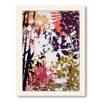 American Flat Urban Road Collection Untitled 5 Framed Wall Art