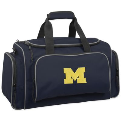 WallyBags® University of Michigan 21-Inch Duffle