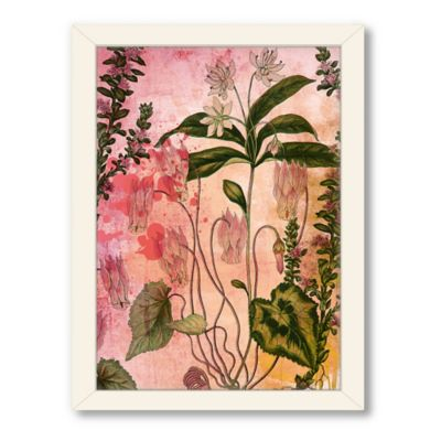 Americanflat Urban Road Collection Botanical Beauty 1 Framed Wall Art