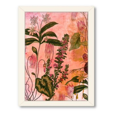 Americanflat Urban Road Collection Botanical Beauty 2 Framed Wall Art