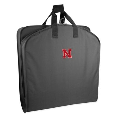 WallyBags® University of Nebraska 40-Inch Garment Bag with Handles