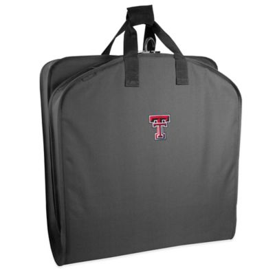 WallyBags® Texas Tech University 40-Inch Garment Bag with Handles