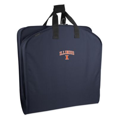 WallyBags® University of Illinois 40-Inch Garment Bag with Handles