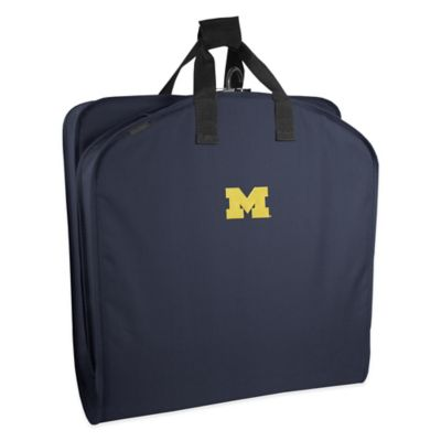 WallyBags® University of Michigan 40-Inch Garment Bag with Handles