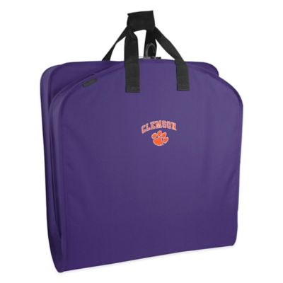 WallyBags® Clemson University 40-Inch Garment Bag with Handles