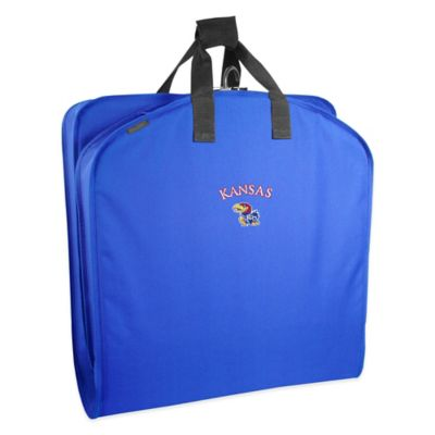 WallyBags® University of Kansas 40-Inch Garment Bag with Handles