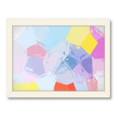 Americanflat Urban Road Collection Facet 03 Framed Art Work