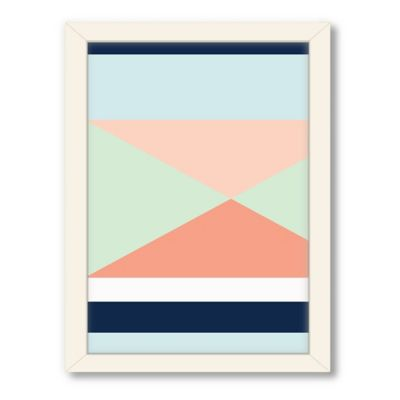 Americanflat Urban Road Collection Geo 2 Framed Art Work