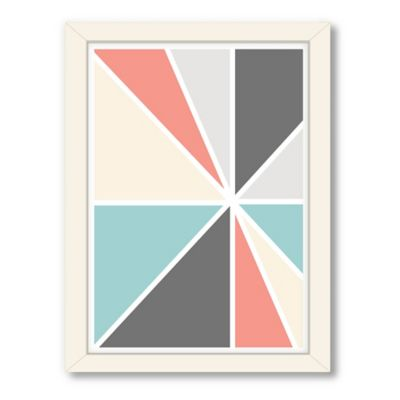 Americanflat Urban Road Collection Geo 3 Framed Art Work