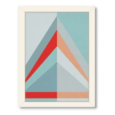 Americanflat Urban Road Collection Geo 06 Framed Art Work