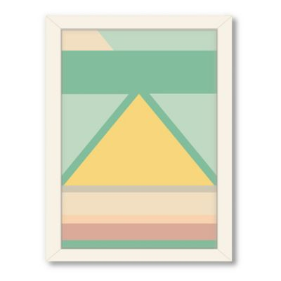 Americanflat Urban Road Collection Geo 7 Framed Art Work