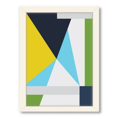 Americanflat Urban Road Collection Geo 10 Framed Art Work