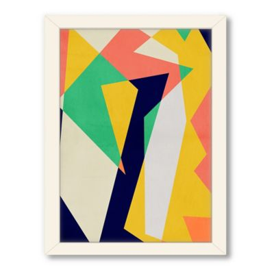 Americanflat Urban Road Collection Geo 26 Framed Art Work