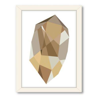 Americanflat Urban Road Collection Geometric Gemstone 2 Framed Art Work