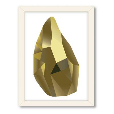 Americanflat Urban Road Collection Geometric Gemstone 6 Framed Art Work