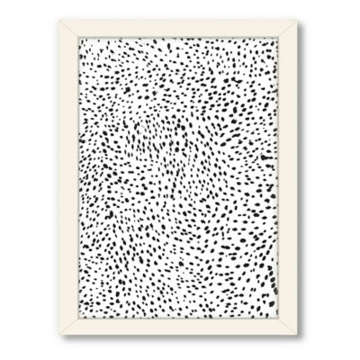 Americanflat Urban Road Collection Lots of Spots Framed Wall Art