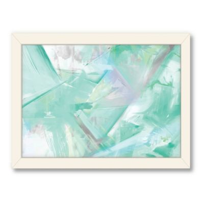 Americanflat Urban Road Collection Mint 6 Framed Art Work