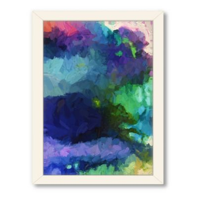 Americanflat Urban Road Collection Untitled 77 Framed Wall Art
