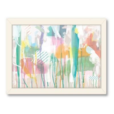 Americanflat Urban Road Collection Spring Rain Framed Art Work