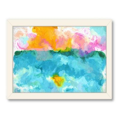 Americanflat Urban Road Collection Untitled 105 Framed Art Work