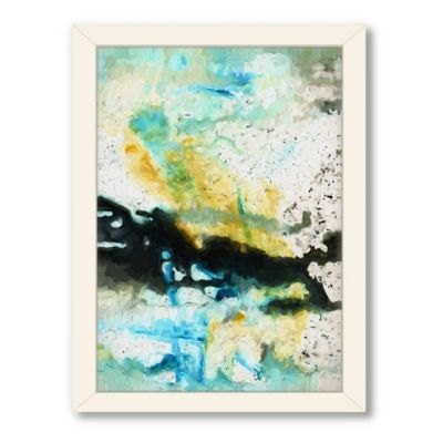 Americanflat Urban Road Collection Untitled 117 Framed Art Work