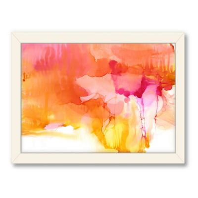 Americanflat Urban Road Collection Sunset Framed Art Work