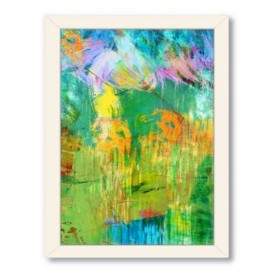 Americanflat Urban Road Collection Abstract Art 1 Framed Art Work