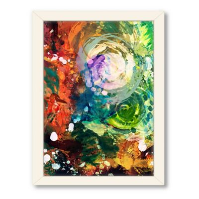 Americanflat Urban Road Collection Abstract Art 2 Framed Art Work