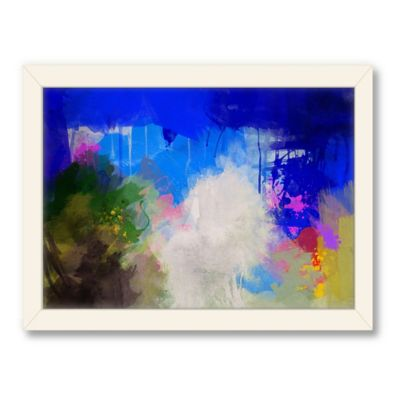 Americanflat Urban Road Collection Abstract Art 4 Framed Art Work