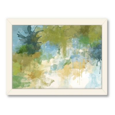 Americanflat Urban Road Collection Abstract Art 5 Framed Art Work