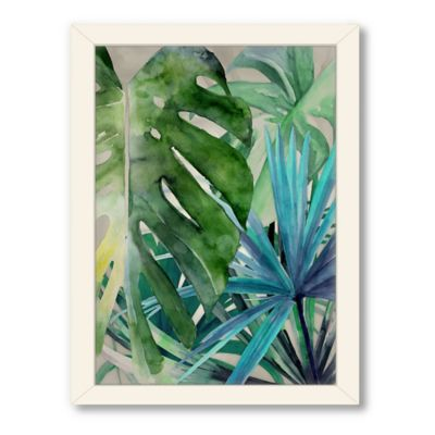 Americanflat Urban Road Collection Palm Canyon Framed Art Work