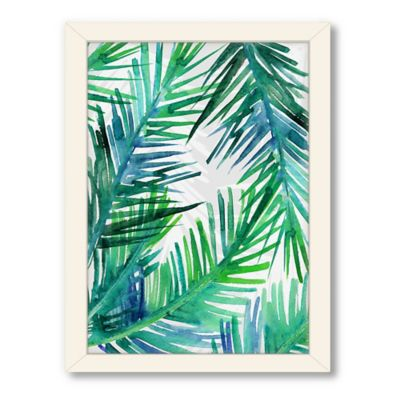 Americanflat Urban Road Collection Tropical 2 Framed Art Work