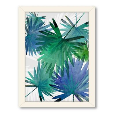 Americanflat Urban Road Collection Tropical 3 Framed Art Work