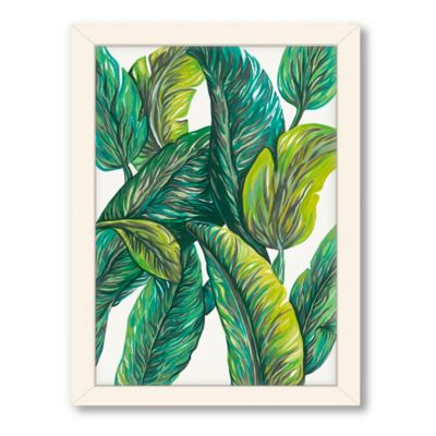 Americanflat Urban Road Collection Tropical 4 Framed Art Work