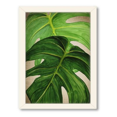Americanflat Urban Road Collection Tropical 6 Framed Art Work