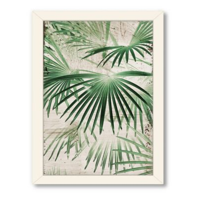 Americanflat Urban Road Collection Tropical 7 Framed Art Work