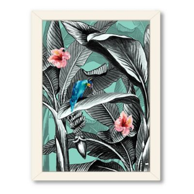 Americanflat Urban Road Collection Tropical 9 Framed Art Work