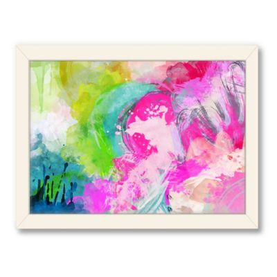 Americanflat Urban Road Collection Abstract Art 8 Framed Art Work